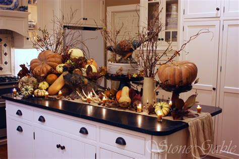 Decorating Ideas Kitchen Buffet Thanksgiving Woodland Buffet Stonegable
