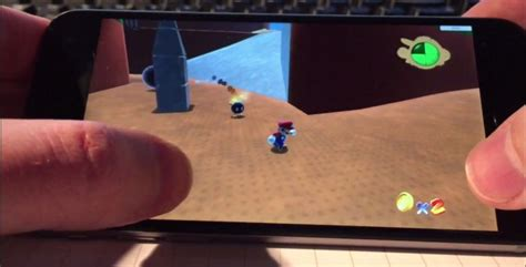 here s what mario 64 looks like running on an iphone 6