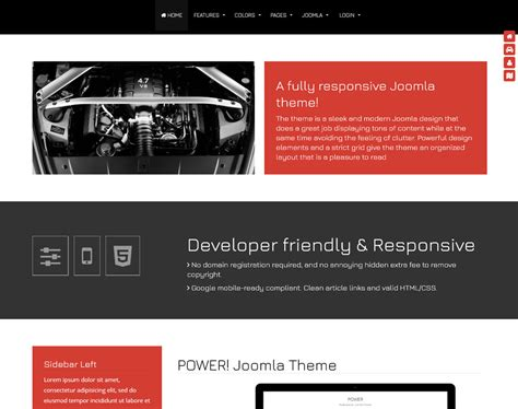 joomla template business joomla template