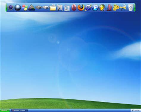 barra de herramientas superior windows 7 programas y mucho rocket dock iconos