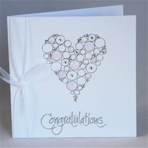 Handmade Wedding Congratulation Cards by A Handmade Wedding Congratulations Card Handmade By Helen