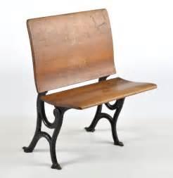 antique school desk chair antique school desk folding bench chair ebth
