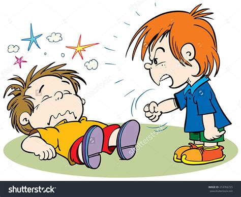Clipart Fighting children fighting clipart clipart of children arguing 3