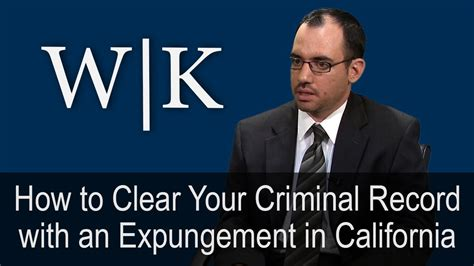 Expunge Criminal Record Uk How To Clear Your Criminal Record With An Expungement Doovi