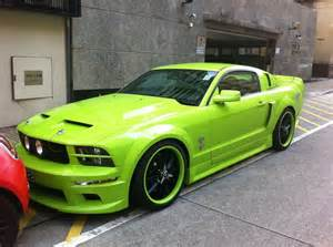 neon green mustang future cars green mustang mustangs and neon