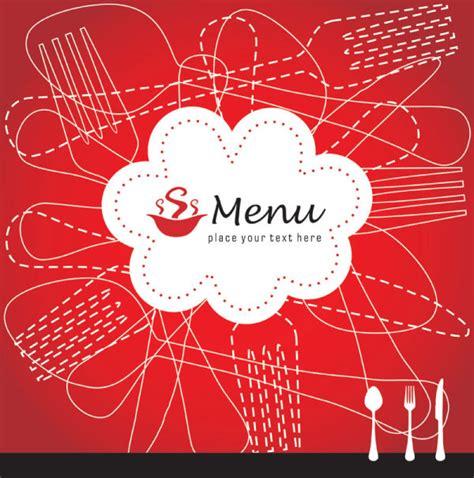 beautiful menu beautiful menu covers vector material vector