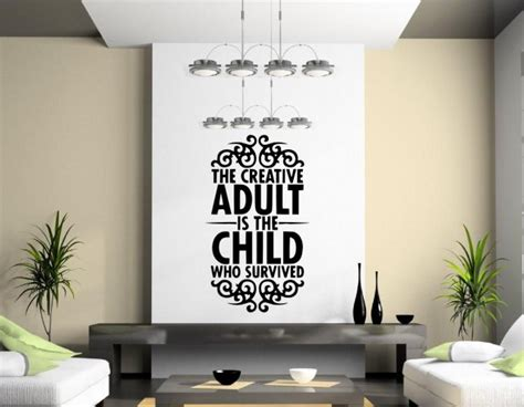 wall stickers for adults the creative is child who survived fantastic wall