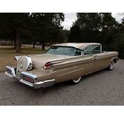 1958 Mercury Montclair Super Marauder Coupe Retro Luxury F