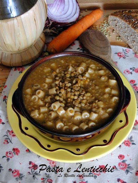 cucinare lenticchie senza ammollo pasta e lenticchie ricetta con e senza bimby le