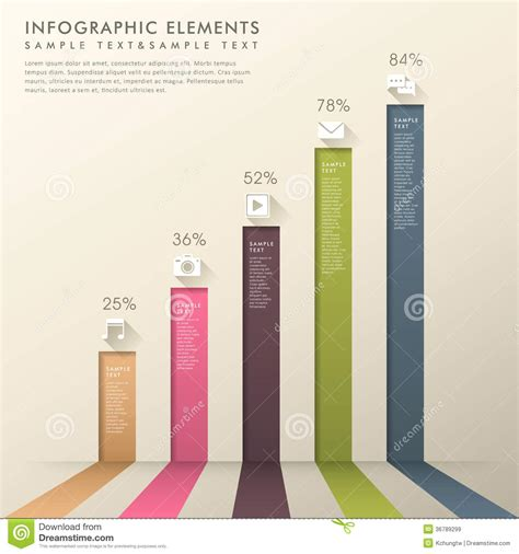 modern template report design table graph creative bar chart designs search pinteres