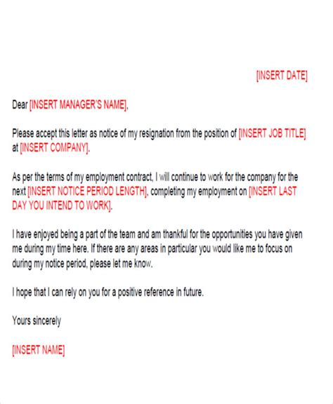 Resignation Letter Format Naukri Standard Resignation Letter Sle Ideas Resignation Letter Format Sle Resignation Letter