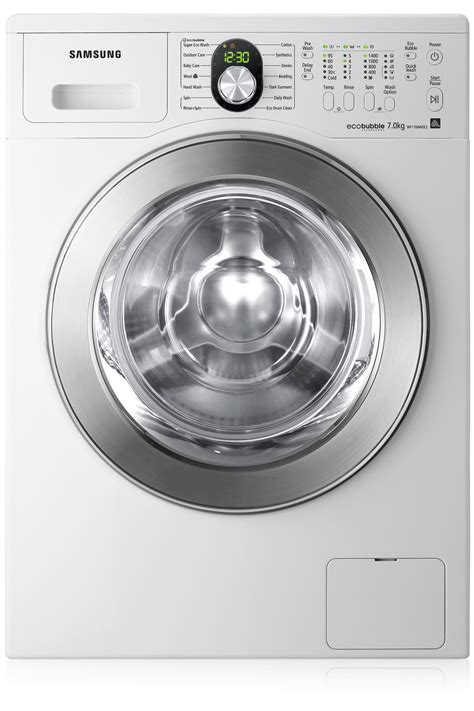 Samsung Vrt Washer Wf1704wse2 1400rpm Ecobubble Vrt Washing Machine Samsung Uk