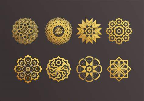 Decoration Islam by Islamic Ornaments Vector Free Vector Stock