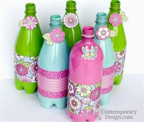 best out of waste ideas from plastic bottles