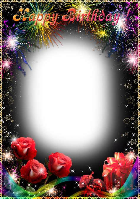 happy birthday photo frame template free birthday frames free clip free clip
