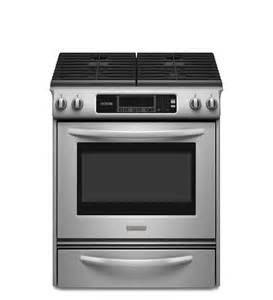 kitchen aid slide in range 30 inch 4 burner gas slide in range architect 174 series ii