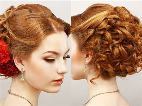 17 Best ideas about Curly Prom Hairstyles on Pinterest