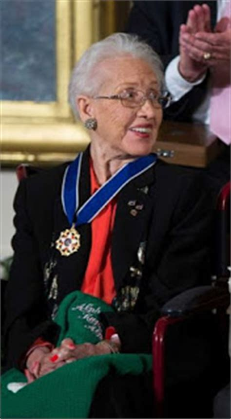 katherine johnson civil rights movement african american reports president obama wards the medal