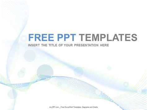 free of powerpoint templates light blue abstact ppt design free daily