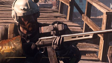 fallout 4 recon scope better reconscope fallout4 mod download