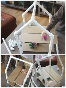how to build a canstruction project pvc pipe house building project stem engineering activity