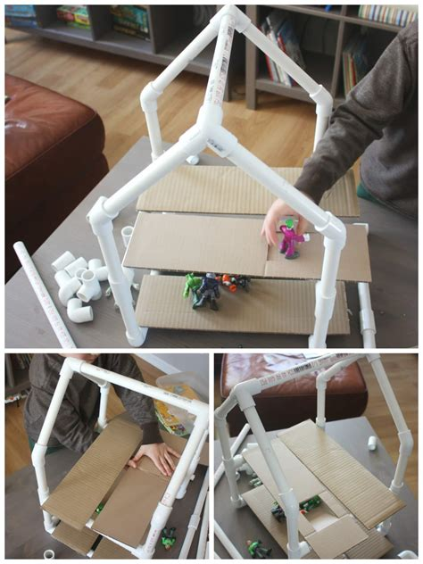 diy pvc pipe projects pvc pipe house building project stem engineering activity
