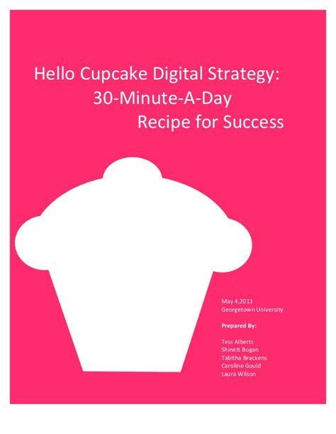 Sle Business Plan For Cupcake Bakery Birthdayessay X Fc2 Com Free Cupcake Business Plan Template
