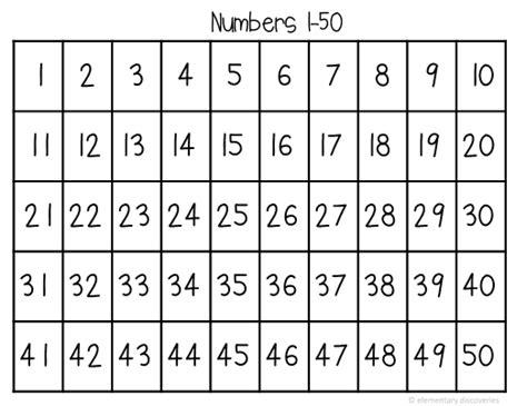 printable numbers 1 50 numbers 1 50 worksheets popflyboys