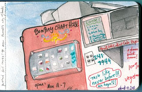 bombay chaat house i draw and paint and stuff herchuckness 187 art blog