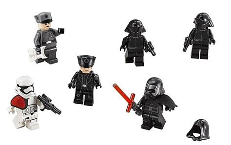 Unmasked Kylo Ren Pg745 Wars Awakens Minifigure Brick lego wars episode vii kylo ren s command shuttle