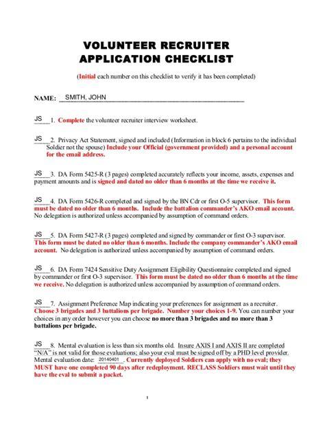 Volunteer Evaluation Letter Volunteer Packer Exle Website