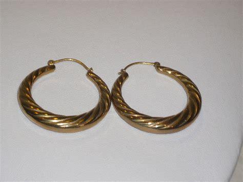 Hoop Earrings 1 2 Cm large gold hoop earrings diameter 3 cm catawiki