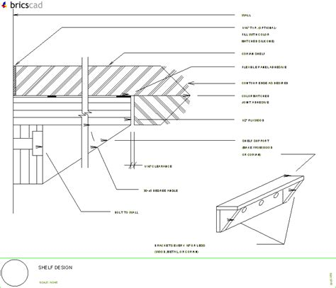 Light Shelf Detail by How To Design Shelving Aia Cad Details Zipped Into