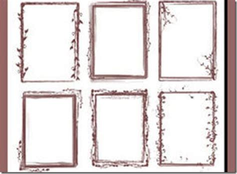free photoshop shapes frames 1000 frames and borders photoshop brushes free download