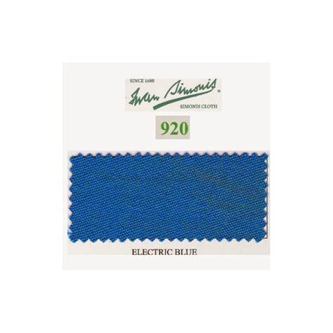 Tapis Billard Simonis by Kit Tapis Simonis 920 7ft Electric Blue Jeux Bmv