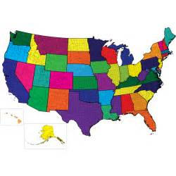 colored united states map blank colored united states map clipart best
