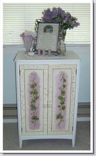 Decoupage Kitchen Cabinet Doors -