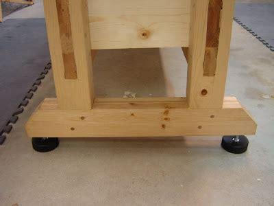 bench leveling feet dan s shop bench leveler feet