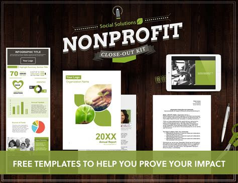 Non Profit Annual Report Template Word 4 Nonprofit Templates To Help You Out Your Fiscal
