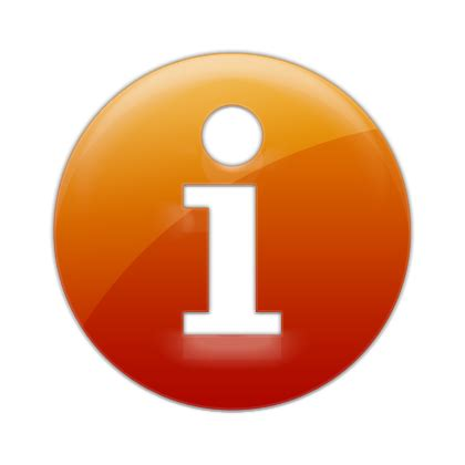 Free Search With Information Image Gallery Orange Information Icons