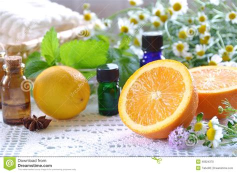 fruit essential oils essential oils with fruits stock photo image 40924370