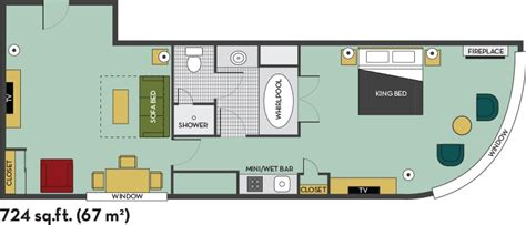 embassy suites floor plan presidential 2 room suite with breakfast floor plan