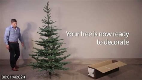 how to assemble the nobilis fir artificial christmas tree