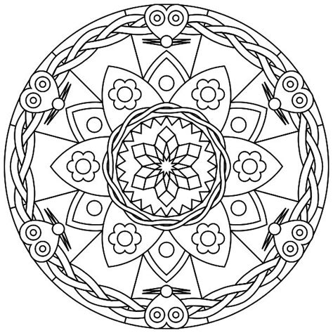 grown up coloring pages mandala 1000 images about mandaly on coloring free