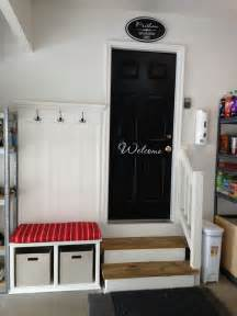 Garage Organization Mudroom Turn A Portion Of Your Garage Into A Mud Room With Hooks