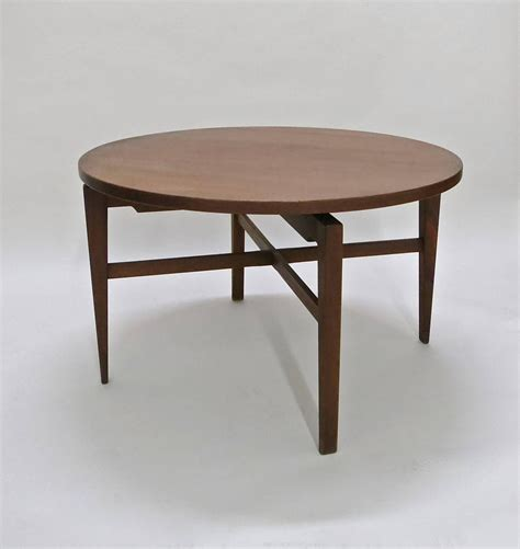 dining room table manufacturers rotating table by jens risom circa 1950 original