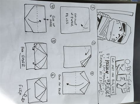 Tom Angleberger Origami Yoda - how to fold origami yoda