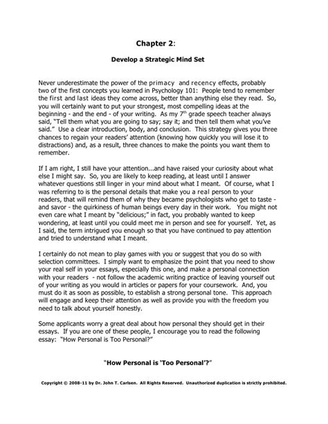 Personal Biography Essay by Book I Getting The Internship You Want How To Write Appic Essays