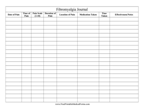 top fibromyalgia pain diary worksheet wallpapers