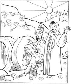 empty tomb coloring pages preschool free easter coloring pages easter pinterest easter